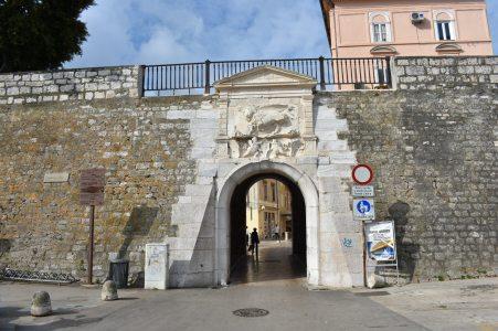 Gate to Zadar