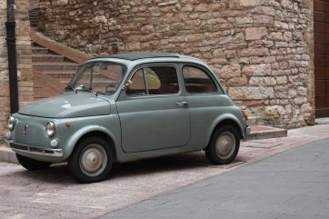 Car in Assisi