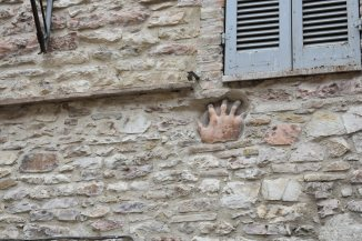 Hand in Assisi
