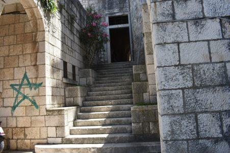 Stairwell in Korcula