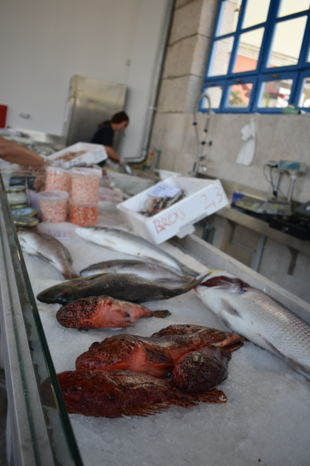 Fish market in Mali Lošinj