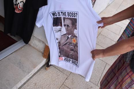 Tito shirt in Mali Lošinj