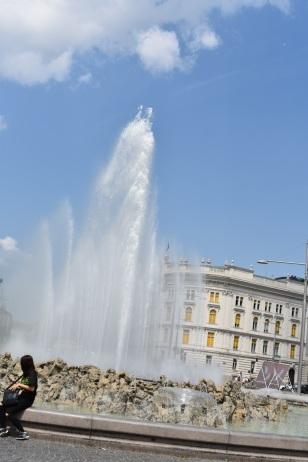 Vienna fountain