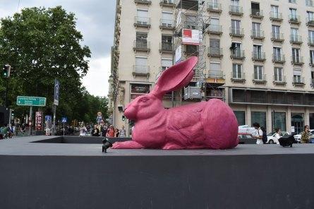 Vienna bunny art