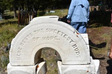 Children's grave stone (sisters)