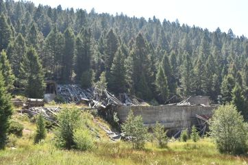 One of the mines on the road to Elkhorn