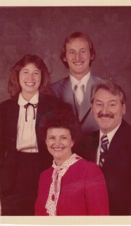 My dad, aunt, and grandparents
